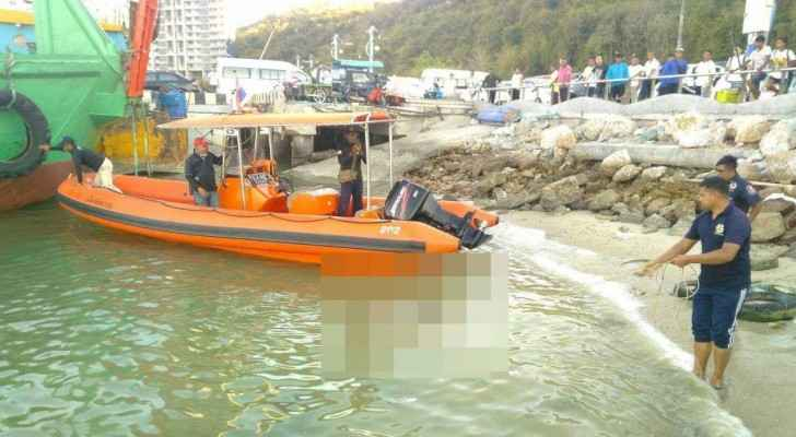Zureikat was arrested after fishermen found the baby's body in Pattaya's main port.