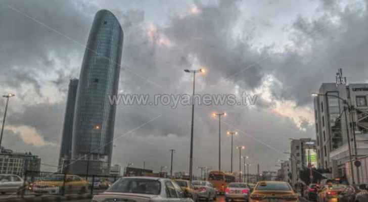 Weather depression to hit Jordan as of this evening, until Thursday morning