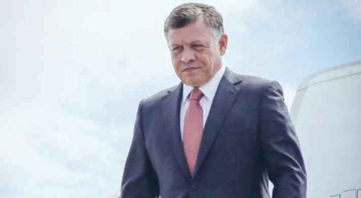 King returns to Jordan after working visit to US