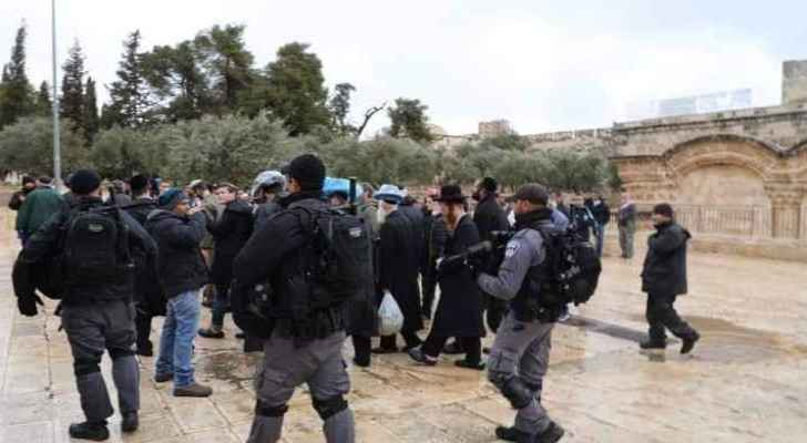 Group of extremist settlers storms Al-Aqsa
