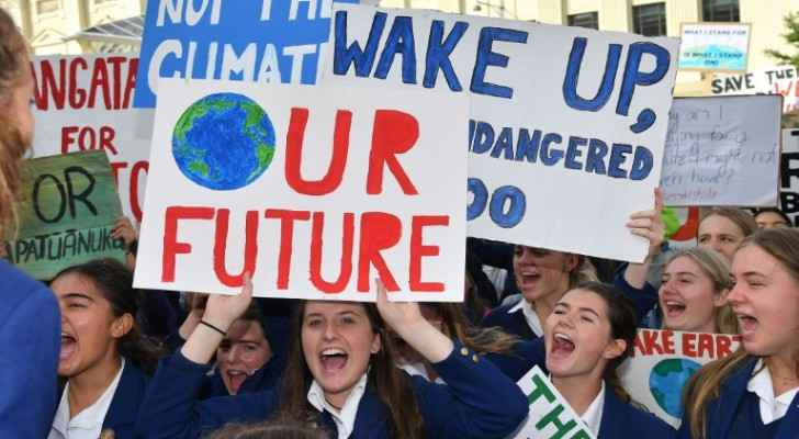 'No Planet B': Tens of thousands join global youth march for climate