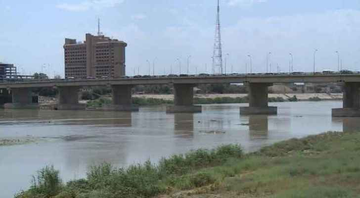 Tigris River in Iraq.
