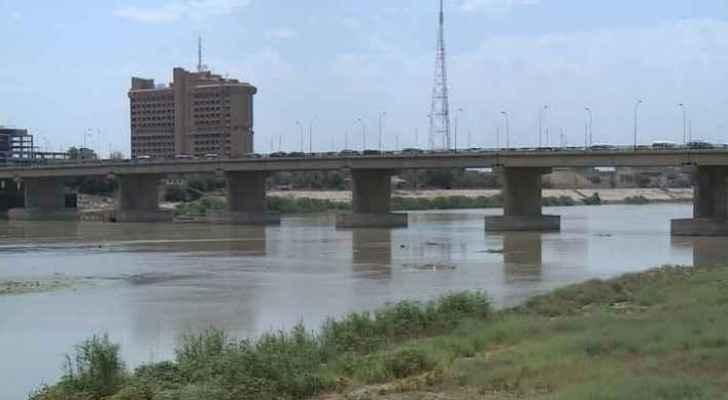 Tigris River in Iraq.