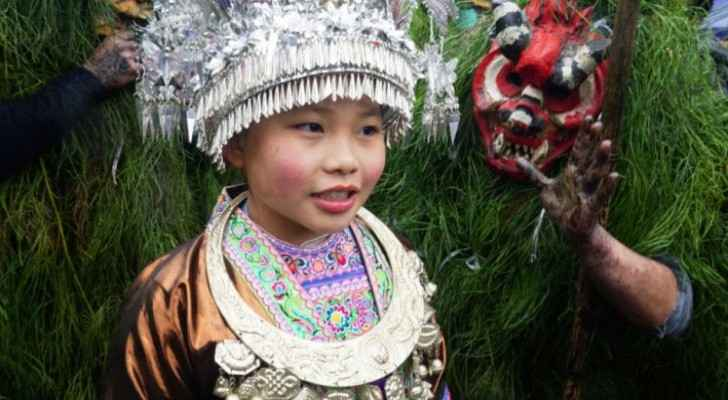 A Chinese child