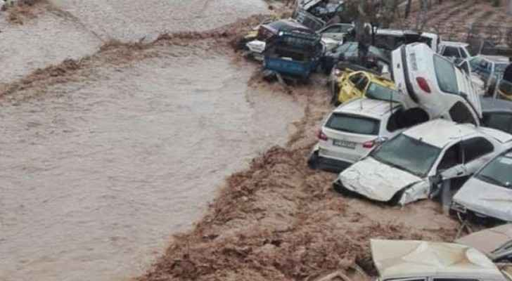 Videos: Flash floods in Iran kill at least 12 people
