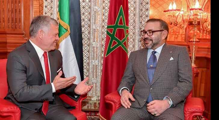 King, Moroccan monarch affirm defending Jerusalem