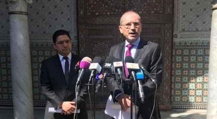 Safadi, Bourita stress importance of Jordanian-Moroccan summit to defend Palestinian cause