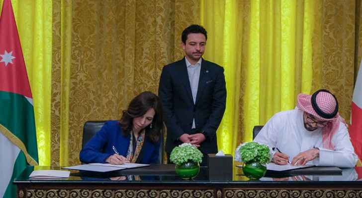 Crown Prince witnesses signing of two MoUs by Crown Prince Foundation in Bahrain