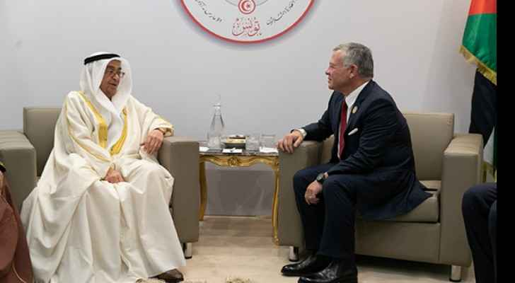 King meets Bahrain deputy PM in Tunis