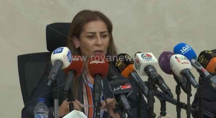 Minister of State for Media Affairs and the government spokesperson, Jumana Ghunaimat