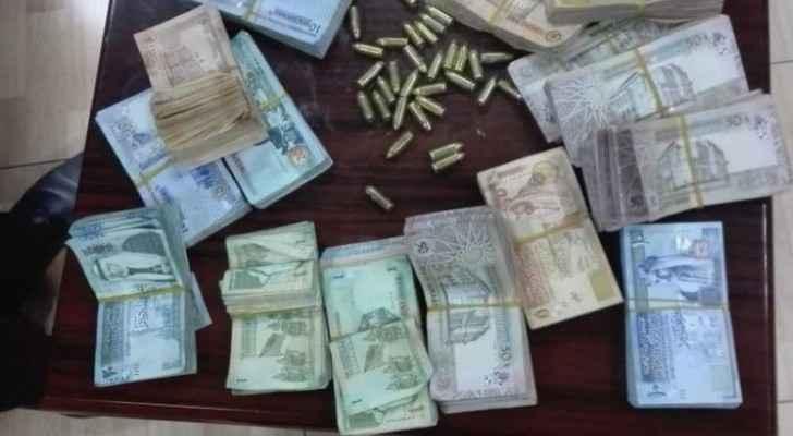 The amount seized