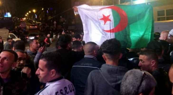 Algerians celebrate Bouteflika's resignation