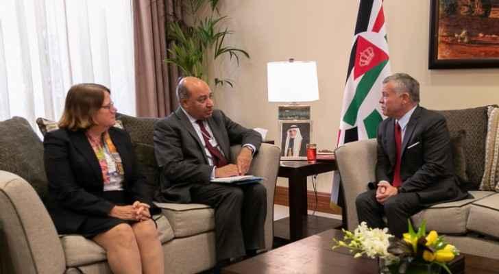 King meets EBRD chief