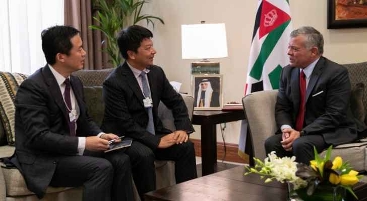 King meets rotating chairman of Huawei Technologies