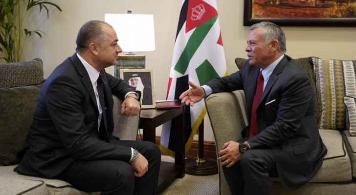 King meets Lebanese Minister of national defence