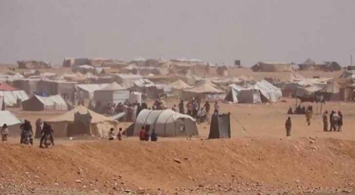 The Rukban camp