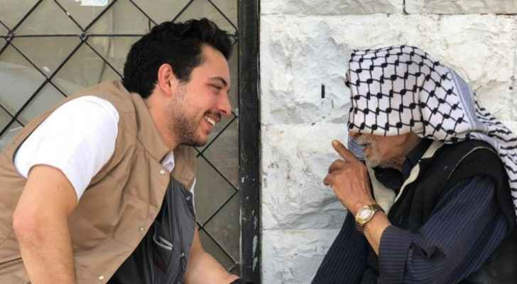 Photos: Crown Prince visits Madaba
