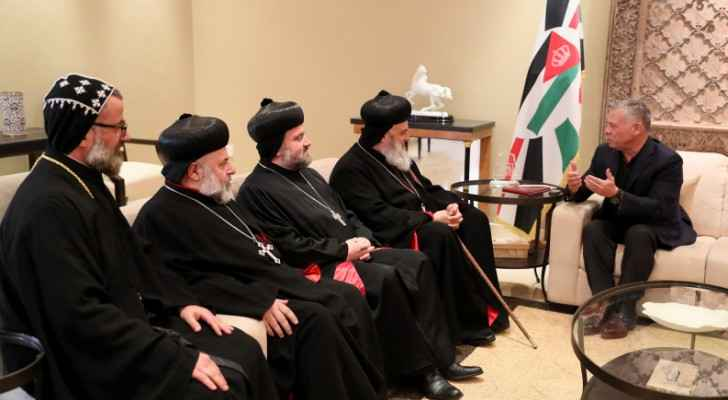 King receives Patriarch of Antioch,  All East and Supreme Head of Universal Syriac Orthodox Church
