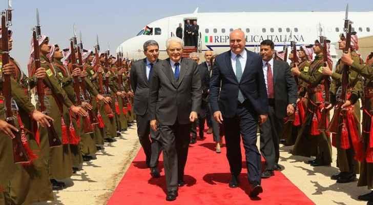 Italian President begins official visit