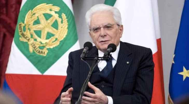 Italian president visits Zaatari refugee camp