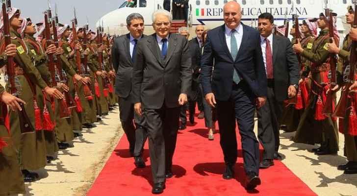 Italian president visits Beit Al Liqa' center in Madaba