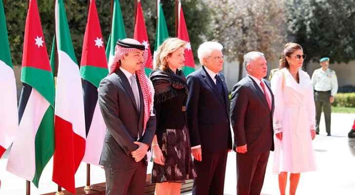 Italian President: Jordan deserves increasing solidarity from world, EU