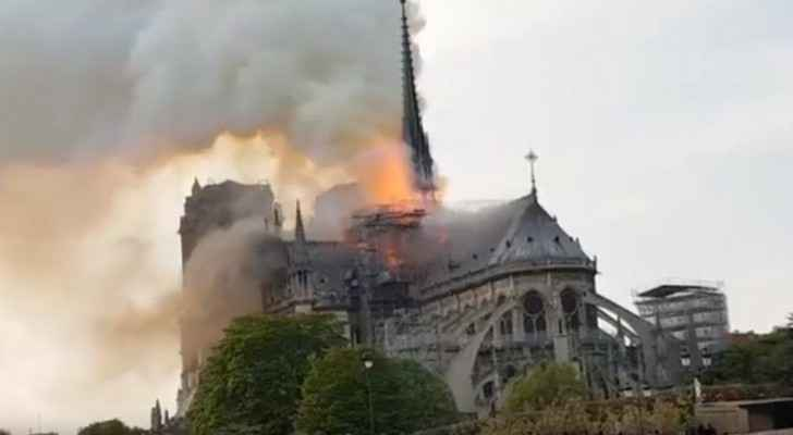 Video: Massive fire engulfs Notre-Dame cathedral in Paris