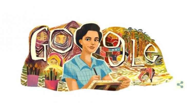 Google honors pioneer of modern Egyptian art 'Inji Aflatoun'