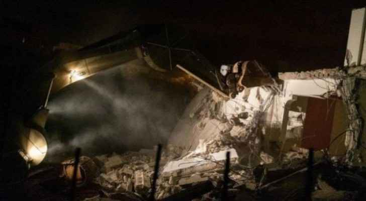 IOF demolish Saleh Barghouthi's house in Kobar village, Ramallah