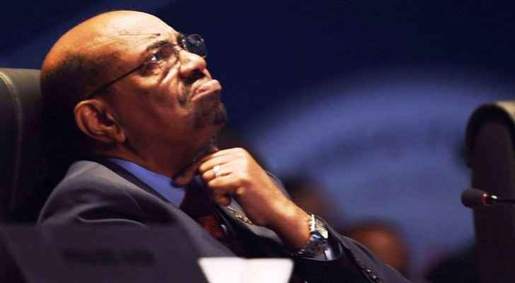 The former Sudanese President Omar al-Bashir