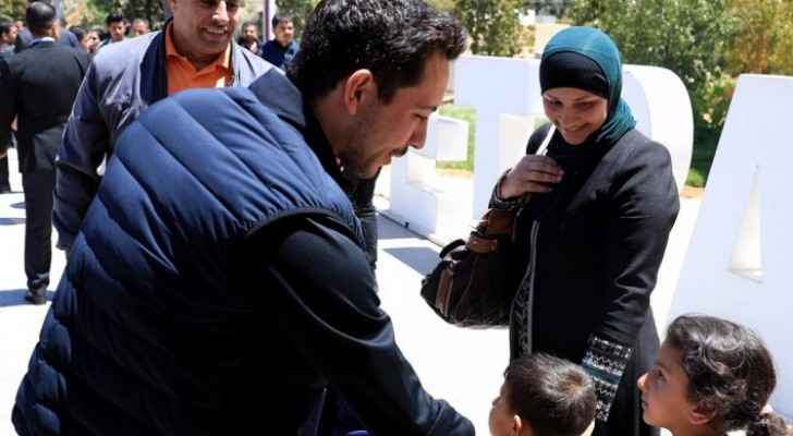 Photos: Crown Prince visits Petra Visitor Center