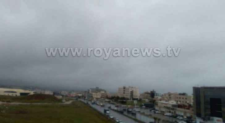 Videos, photos: Jordan witnesses torrential rainfall, hail showers