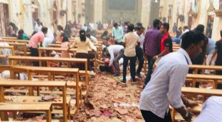 At least 207 dead, 450 injured in attacks on churches and hotels in Sri Lanka