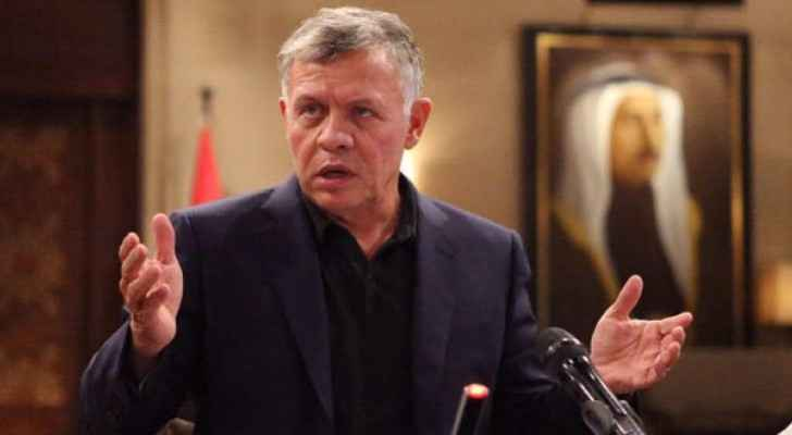 King urges support for entrepreneurship in Jordan