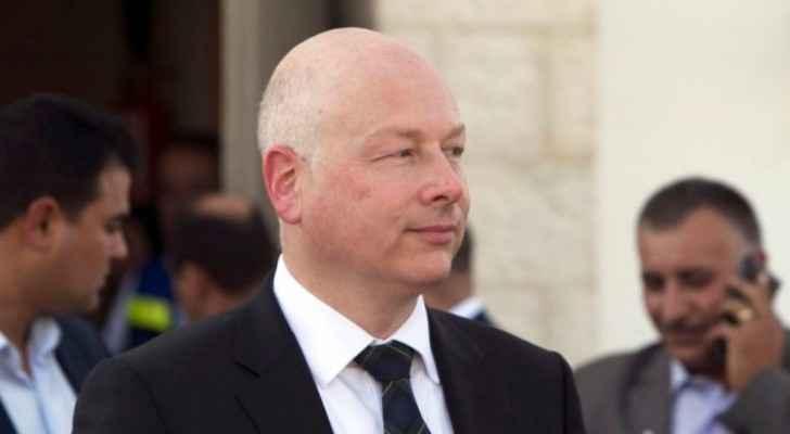 US Middle East envoy Jason D. Greenblatt
