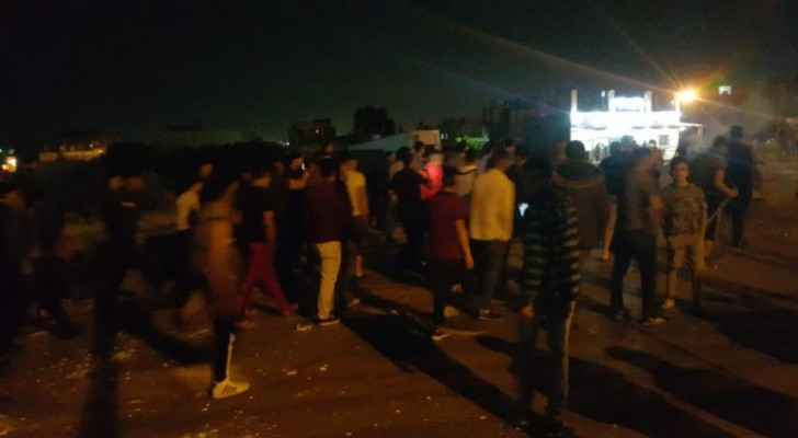 Citizens in Irbid protest over frequent run-over accidents, call on establishing walkways