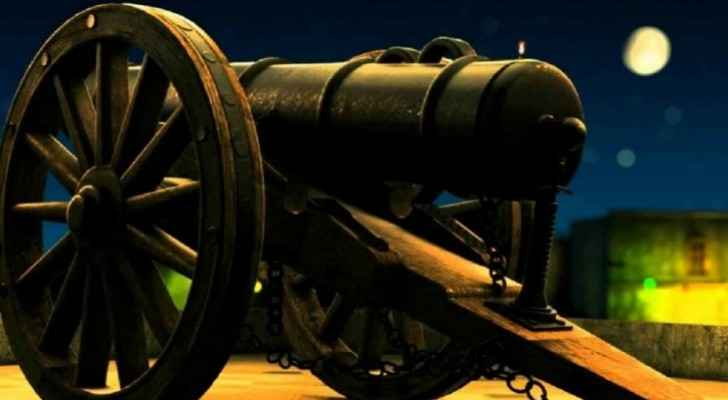 Ramadan cannon to be fired from Amman Citadel this evening