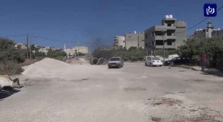 Citizens complain of excavation works carried out by Irbid Municipality