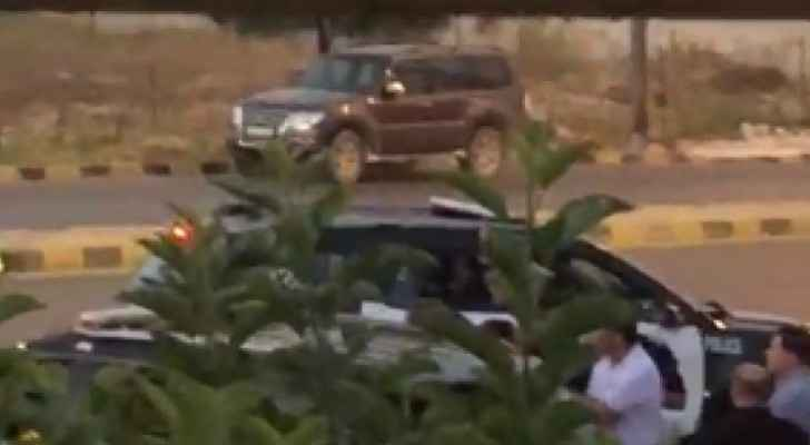 Video: Moment of arrest of former MP in West Amman