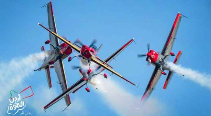 Royal Jordanian Falcons to fly over Kingdom's sky in celebration of Jordan Independence Day