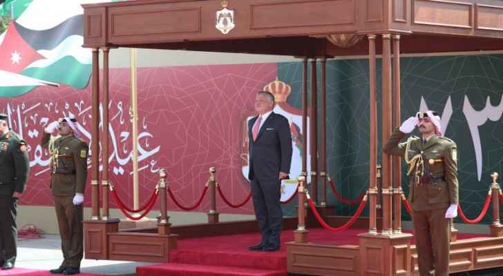 King attends 73rd Independence Day ceremony