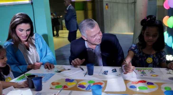 King, Queen host iftar for orphans at Children's Museum-Jordan