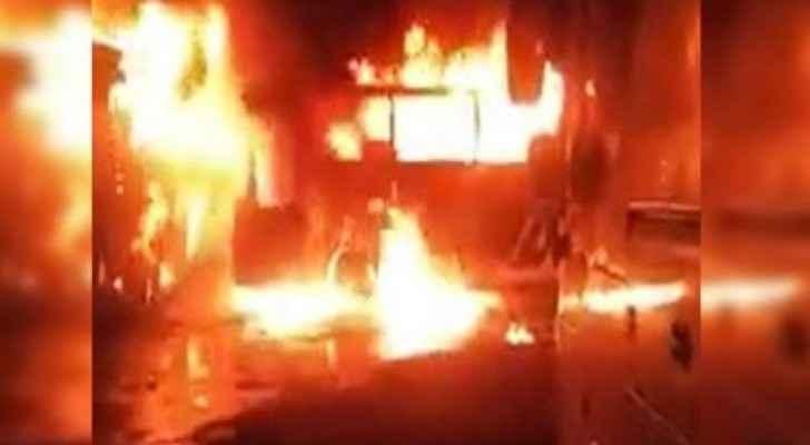 Awqaf Ministry: Bus carrying Jordanian citizens on Umrah in Saudi Arabia set ablaze