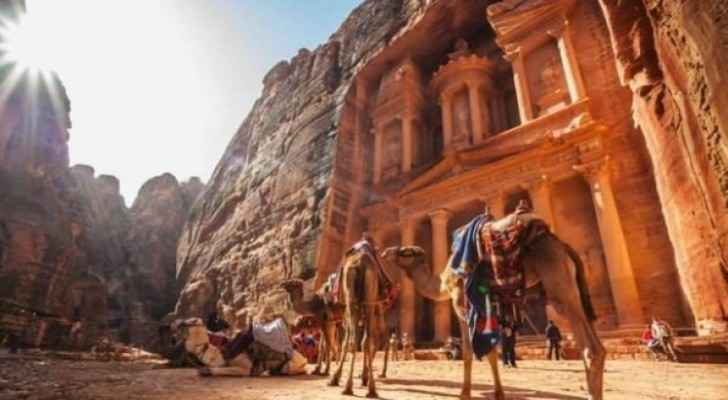 Number of visitors to Rose City of Petra increased by 33% in May 2019