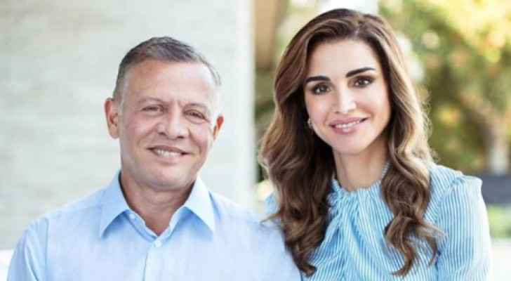 Queen Rania: 'I am so lucky to be by your side'
