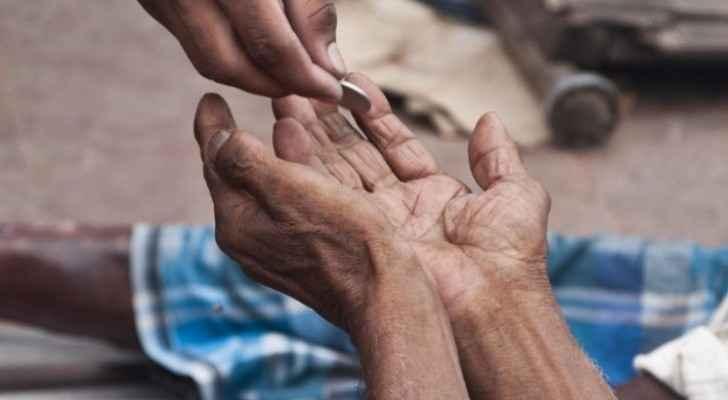 Beggar receiving JD 1850 salary seized in Amman