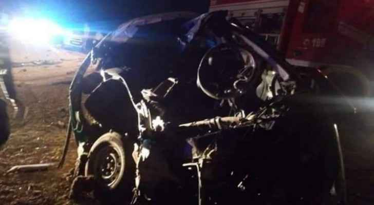 Four died in lane change accident on Desert Highway 'death road'