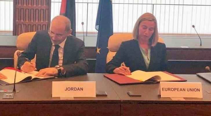 Jordan signs new agreement with EU