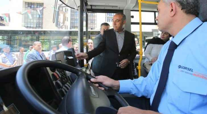 'Amman Bus' project to be launched on June 30, interesting features included