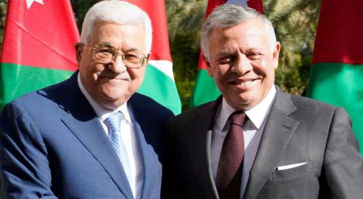 King reiterates Jordan's support for Palestinians in phone call with Abbas